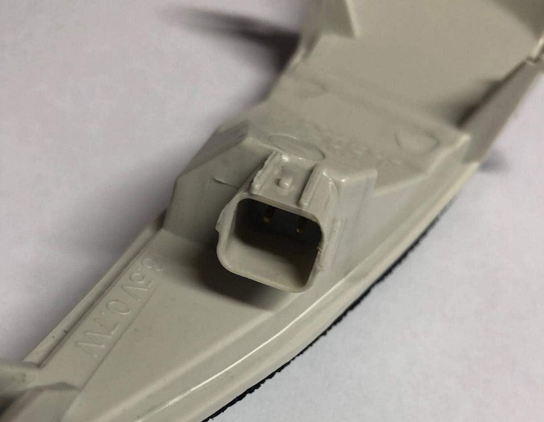 Blinker Weiss Links+Rechts Fahrerseite+Beifahrerseite mit E-Pr/üfzeichen Eintragungsfrei Klarer LED Spiegel