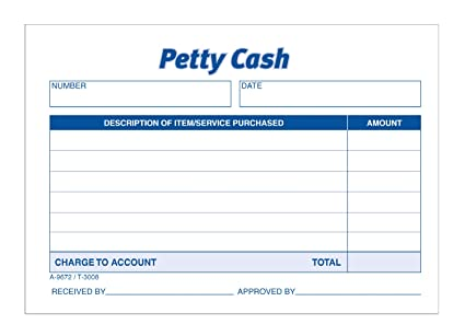 TOPS 3008 Received of Petty Cash Slips, 3 1/2 x 5, 50 per Pad (Pack of 12  Pads)