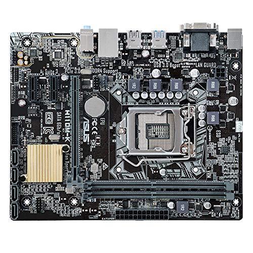 ASUS H110M-K Micro ATX Motherboard LGA 1151 Dual DDR4 USB 3.1 Gen 1 VGA DVI from Vipeco