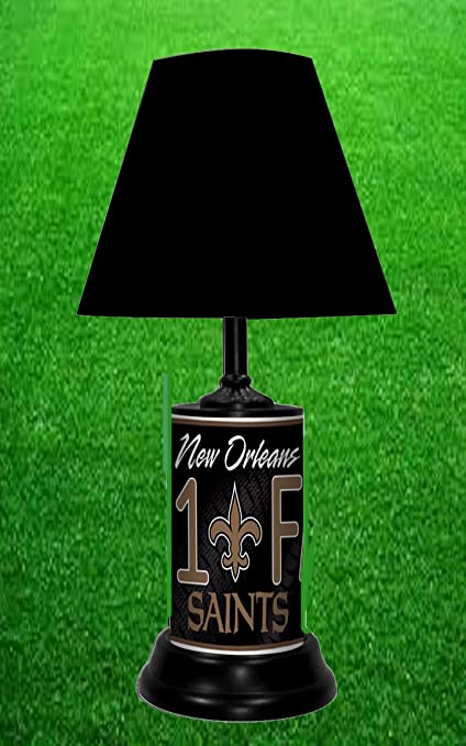 Amazoncom New Orleans Saints Table Lamp Home Kitchen
