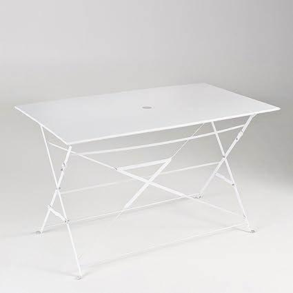 La Redoute Interieurs Table pliante rectangulaire, métal ...