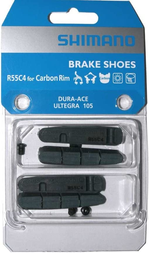 2PCS Road Bike Brake Pads Shoes for Alloy Rims Dura Ace Ultegra 105 Cartridge