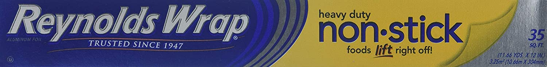 Reynolds Non-Stick Aluminum Foil, 35 Sq Ft Roll