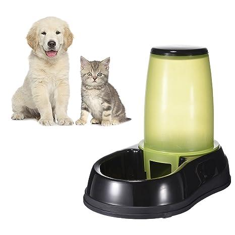 yunt dispensador para Animal dispensador automático de agua y de comida para perro/gato