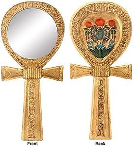 Ankh Egyptian Mirror Collectible Egypt God Religious Symbol Figure