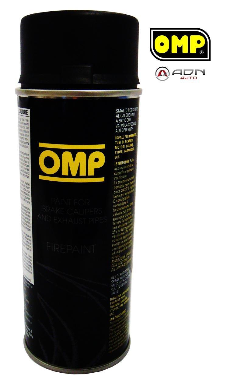 OMP OMPPC02001000071 Pintura Pinzas Negro, Noir, 400 ML