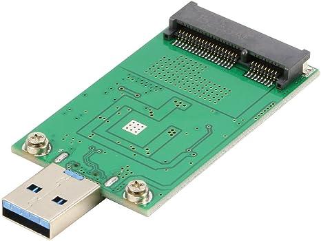 riitop mSATA SSD a USB 3.0 Adaptador convertidor Tarjeta Memoria ...