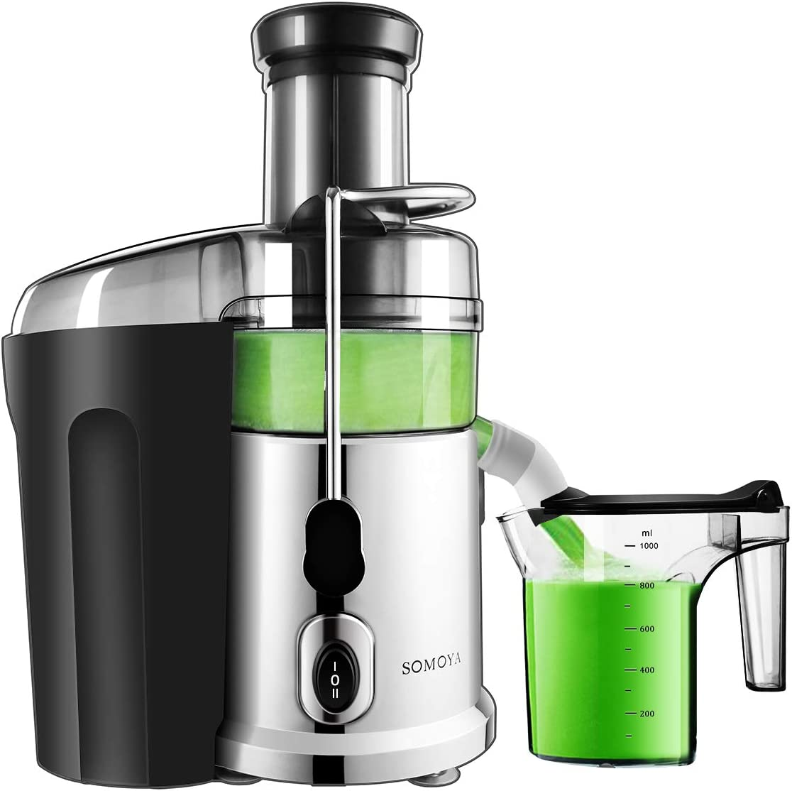 Juicer Machine Juice Extractor Centrifugal Juicer Easy Clean 2020 700 Watt with Quiet Motor,High Speed Stainless Steel, Extract Fresh Vegetables and Fruits Juicer