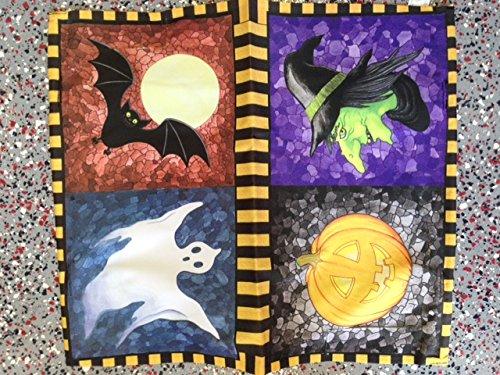 Halloween Mailbox Cover Pumpkin Witch Ghost Bat