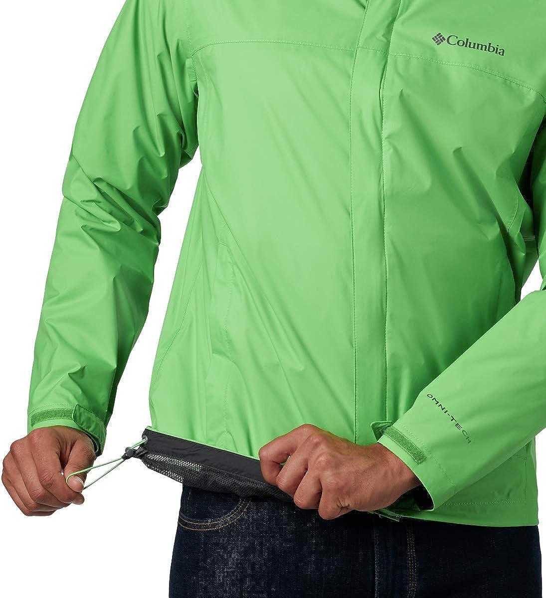 Green boa Columbia Mens Size Watertight II Waterproof X-Large Tall Breathable Rain Jacket