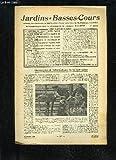 JARDINS ET BASSES-COURS N° 128 - LA QUESTION DU JOUR : QUAND FAUT-IL CUEILLIR LES ROSES, p. 222.ÉLÉGANTS TOURS DE COU EN PLUMES DE DINDON, p. 223.SURVEILLEZ ATTENTIVEMENT VOS RUCHES EN ÉTÉ, p. 226.COMMENT AMÉNAGER LE POULAILLER DE RAPPORT, p. 229.FAITES D