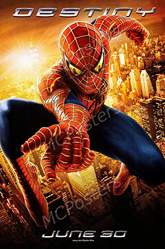 MCPosters Marvel Spider-Man Two Toby McQuire GLOSSY FINISH Movie Poster - MCP417 (24