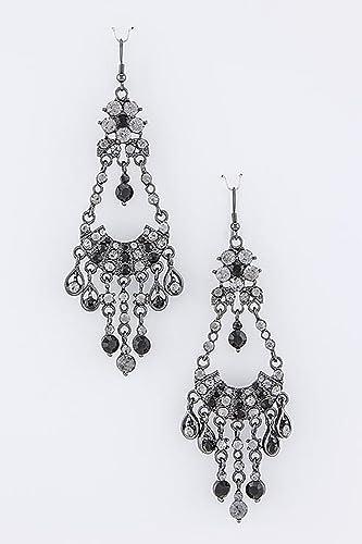 Amazon trendy fashion jewelry crystal chandelier earrings by amazon trendy fashion jewelry crystal chandelier earrings by fashion destination black fashion destination jewelry aloadofball Choice Image