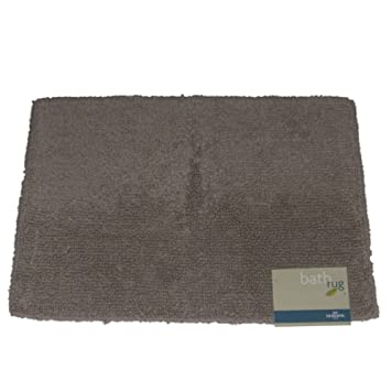 Mohawk Loop Pile Bath Rug Gray Tan Tub Mat Gray Throw Rug 17x24
