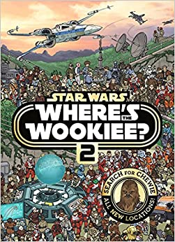 Star Wars Where's The Wookiee 2 Search And Find Activity Book por Lucasfilm
