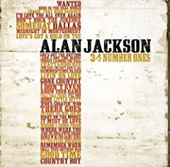 Superstar Alan Jackson is celebrating the 20-year anniversary of his debut album with the release of 34 Number Ones, a career-spanning,double-disc collection featuring all 34 of Jackson's #1 hits. With 37 in all,the project also includes two ...