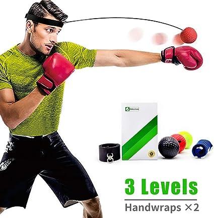 REACT Reflex Ball Kidte Boxing Trainning NEW