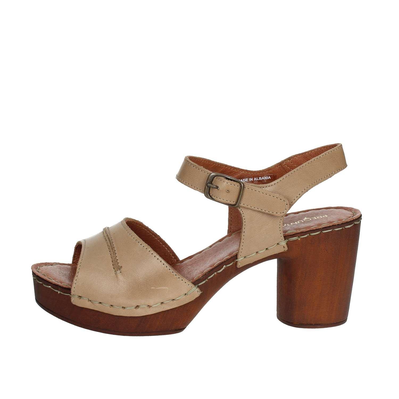 Pregunta Damen PQ9181950 002 Sandale Damen Pregunta Braun Leder 8fa37c
