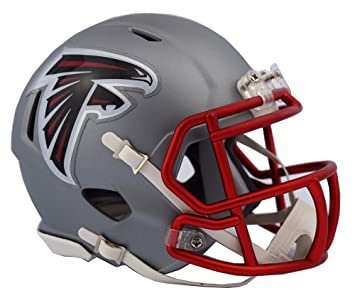 Riddell Atlanta Falcons Blaze Speed - Casco, Color Gris