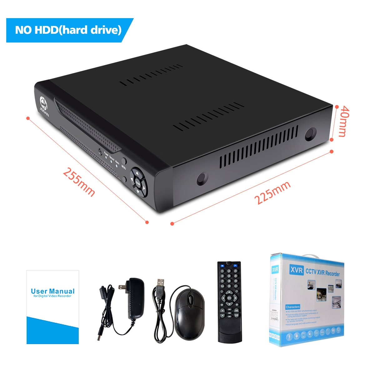 Jooan 16 Channels H264 Network Motion Detection 16ch H 264 Dvr Circuit Diagram Cctv Surveillance Security System Digital Video Recorder 5 In 1 Ahd 1080p
