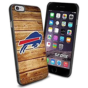 Buffalo Bills Team Wood Logo iphone 5 5s inch Case Black Rubber Cover Protector