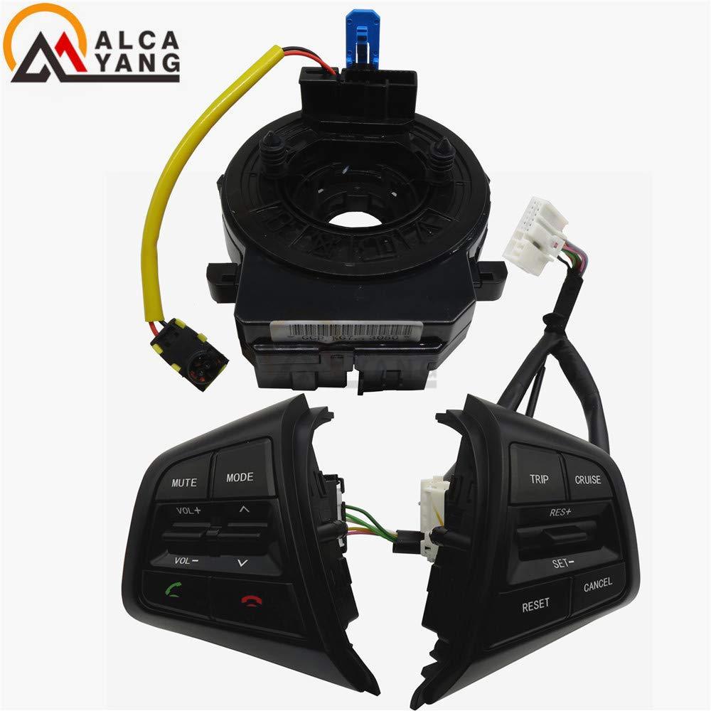 Fincos for Hyundai ix25 1.6L 2.0L Steering Wheel Cruise Control Buttons Remote Volume Button switches car Accessories - Color: 1.6L Creta