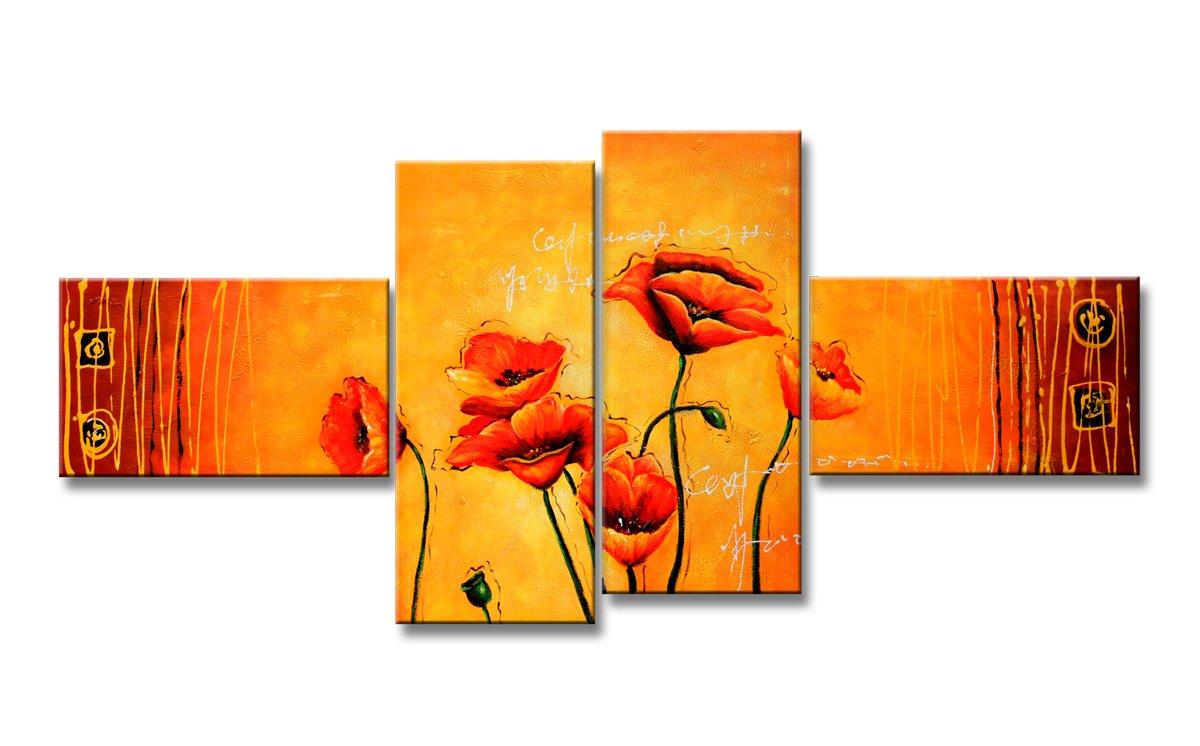 Visario 6520 - Quadro XXL (160 cm), motivo: fiori