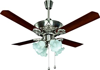 Buy crompton oberon ceiling fan brushed steel online at low prices crompton oberon ceiling fan brushed steel aloadofball Images