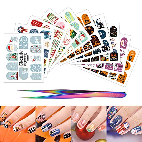 BEAUTYBIGBANG Stickers Halloween Christmas Decoration product image