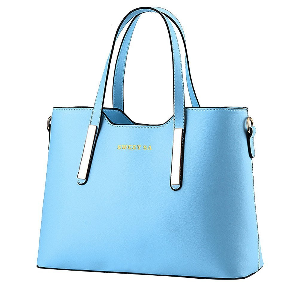 ADOO Women Handbags Shoulder Bags Zipper Messenger Bag