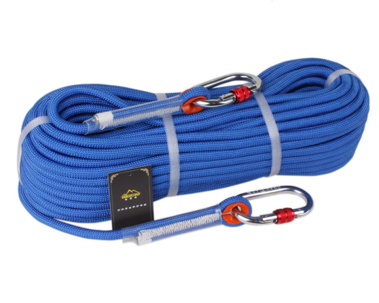 bluee 12.5mm10m Outdoor Climbing HighAltitude Camping Wear Safety Rope10.5   12mm,bluee12.5mm10m