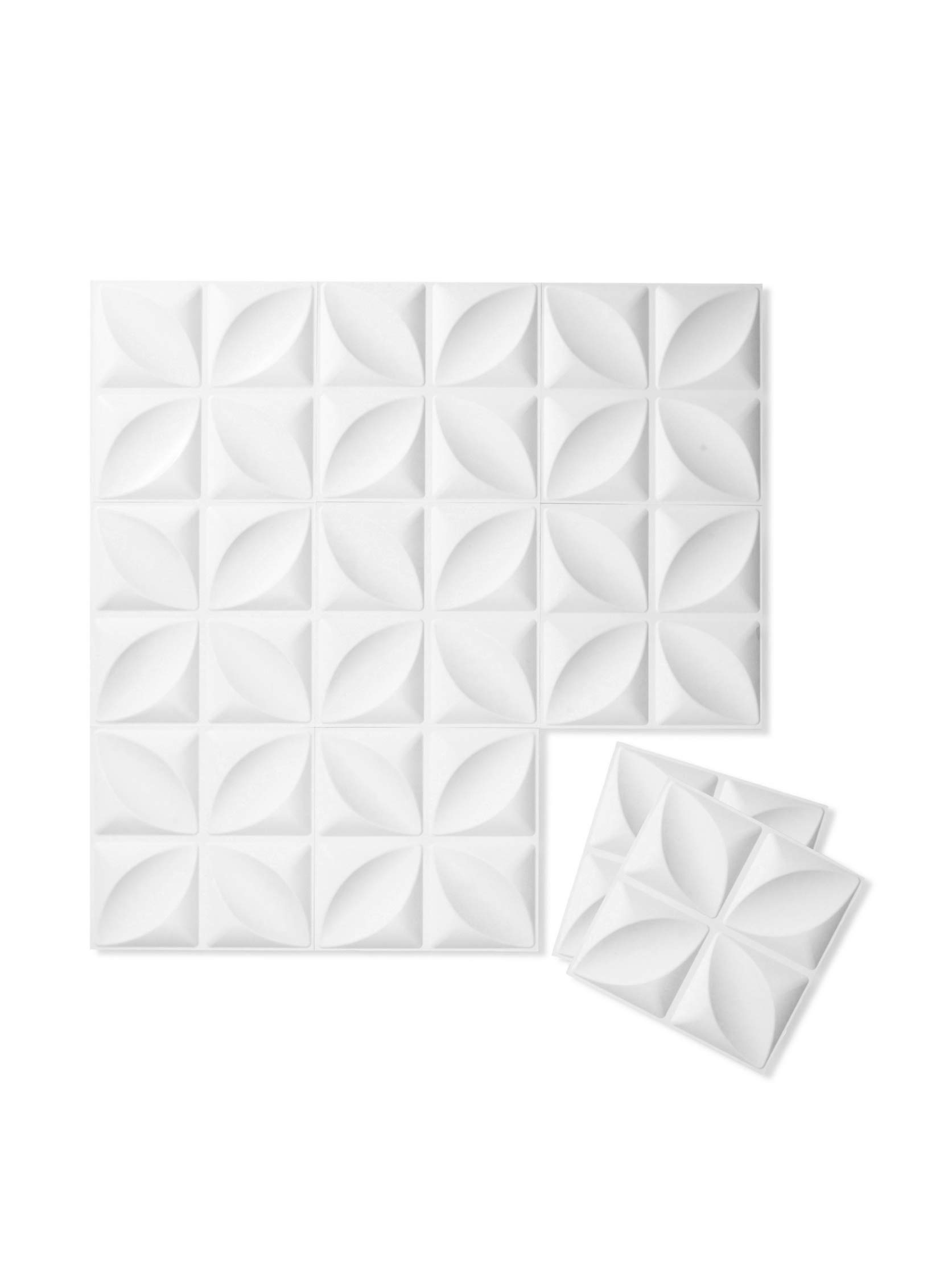 Inhabit Chrysalis Wall Flats - 3d Textured Wall Panels