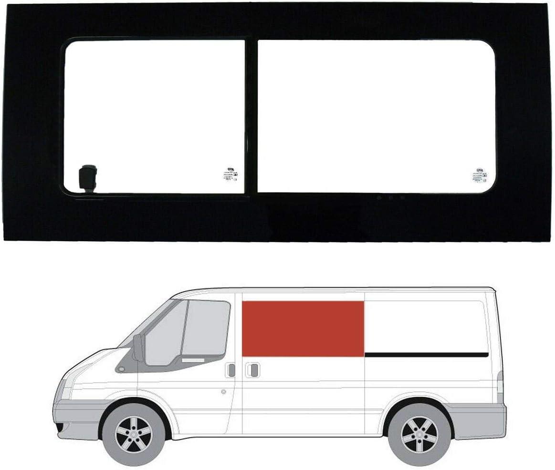 Mano izquierda ventana de apertura transparente para puerta corredera Ford Transit (2000 – 2013) [MWB; LWB]: Amazon.es: Coche y moto