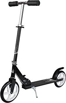 UHINOOS Adults Kick Scooter 200MM with Kickstand-Big Wheels Kids Scooter with Easy Folding System for Teenager best scooters for women