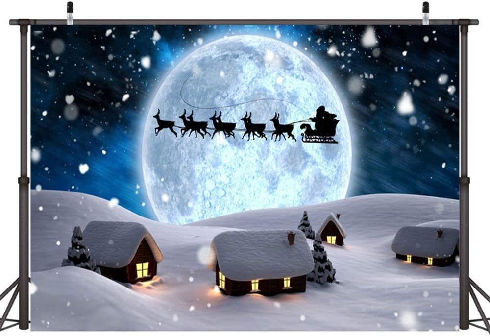 Color : G, Size : 210X150cm Zxcvlina-YD Christmas Theme Seamless Pictorial Cloth Photography Background Tree Elk Snowflake Snowman Printed Backdrop Photographic Studio