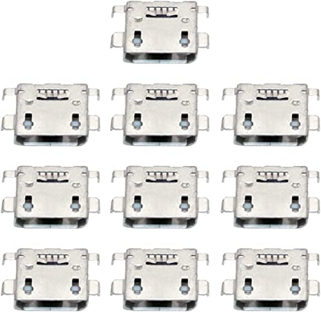 XIAOMIN 10 PCS Charging Port Connector for Sony Xperia L C2105 Replacement