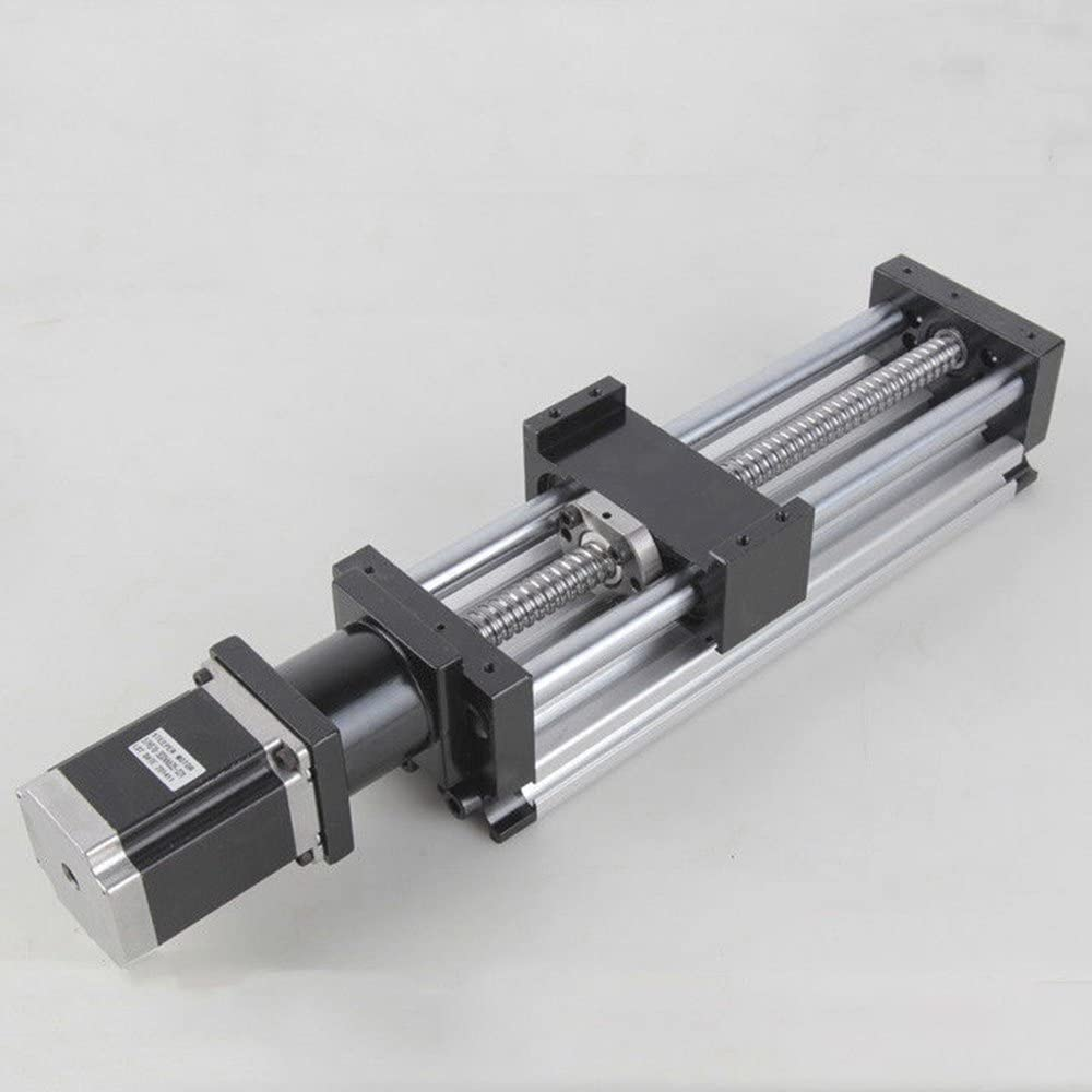 100 mm Ball Screw Linear CNC Slide Stroke 100-1000mm Long Stage Actuator Stepper Motor