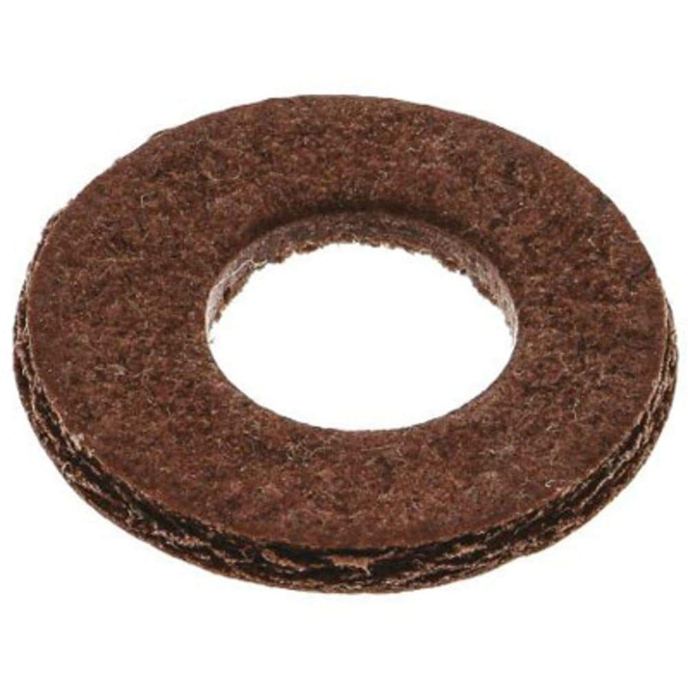 M4 Plain Vulcanised Fibre Sealing Washer; 0.8mm Thickness, Pack of 10