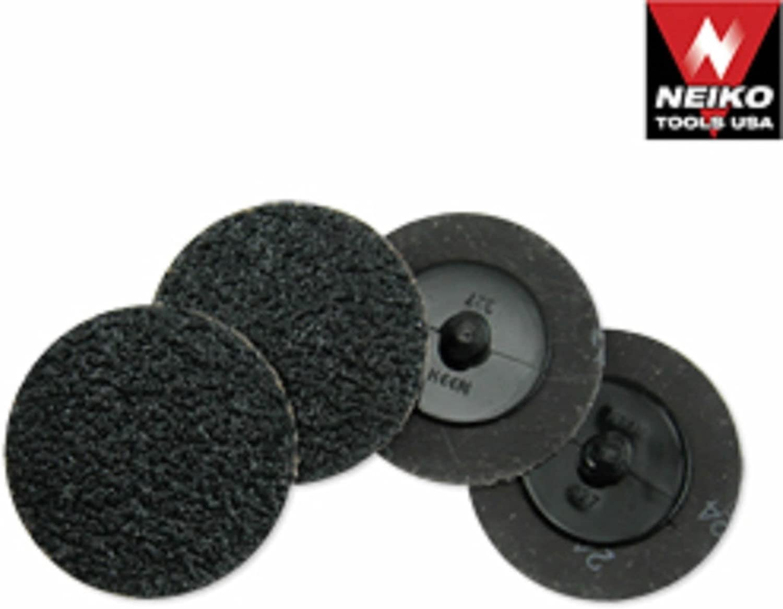 Neiko 50 Silicon Carbide Sanding Discs 3 24 Grit Grinding Sandpaper Wheel