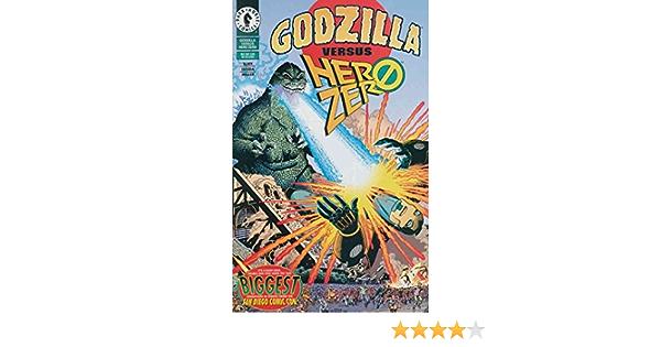 July 1995 GODZILLA VS Dark Horse Comics NM HERO ZERO  #1