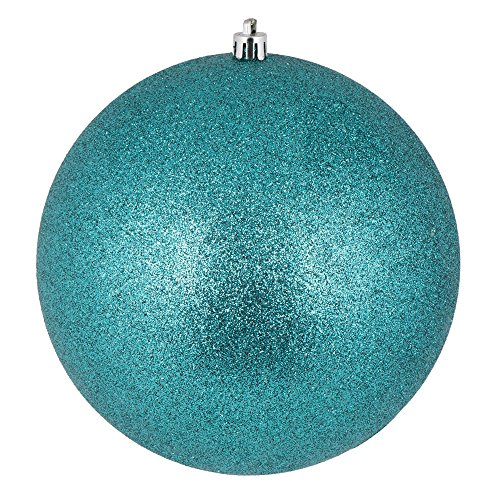 Glitter ball ornaments. Shatterproof & UV Resistant