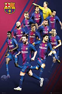 product image for Frame USA Barcelona Players 17/18 Rolled Poster (24x36)