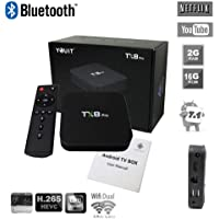Tv Box Smart Tx8 Pro 4k Netflix Youtube Bluetooth 2gb Ram 16gb Rom Android 7.1