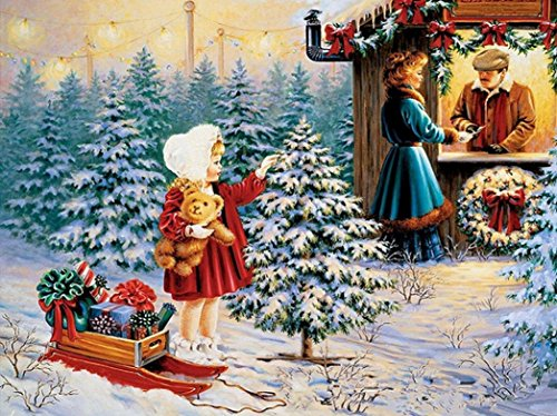 DIY Painting,AutumnFall 5D Diamond Painting Christmas Snowman Embroidery DIY Cross Stitch Kit Xmas Home Decor,Multicolour (B)