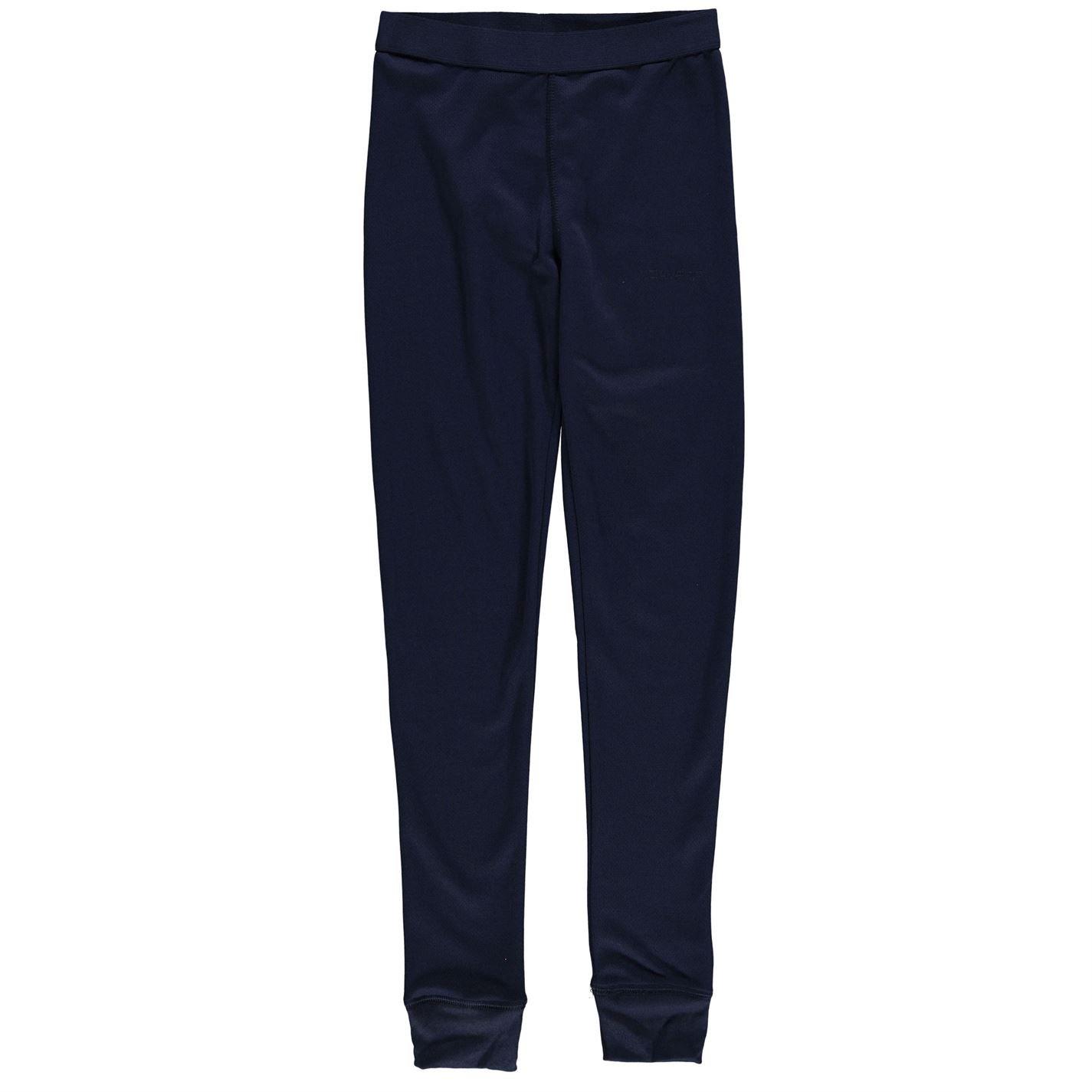 Campri Kids Thermal Baselayer Pants Unisex Junior Lightweight Elastic Bottoms
