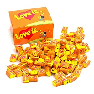 Bubble gum Love Is (Orange-Pineapple)