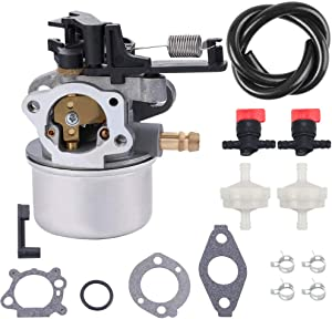 Kuupo 796608 Carburetor Kit Tune Up for Briggs and Stratton 2700-3000PSI fit Troy Bilt Power Washer 7.75 Hp 8.75 Hp 8.5Hp 190CC
