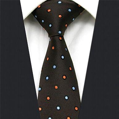 shlax&wing Shlax y ala Polka Dots para hombre corbata Slim cuello ...
