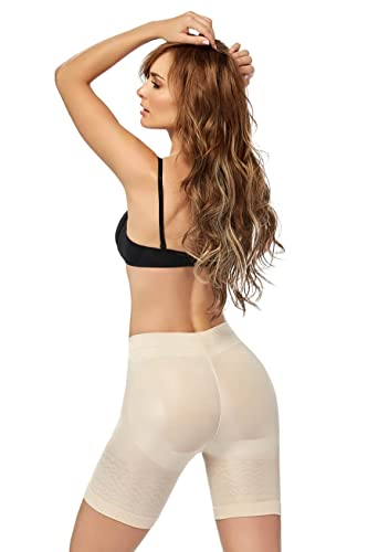 ea706b9345d Cocoon Mid-Waist Long Leg Panty Girdle Style 1403 at Amazon Women s  Clothing store