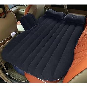 Colchón hinchable para el asiento de atrás del coche o para acampar, se hincha con